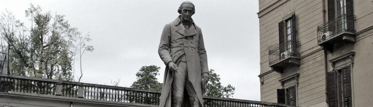 Statue von Lagrange in Turin