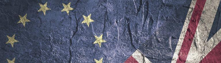 EU/UK-Flagge